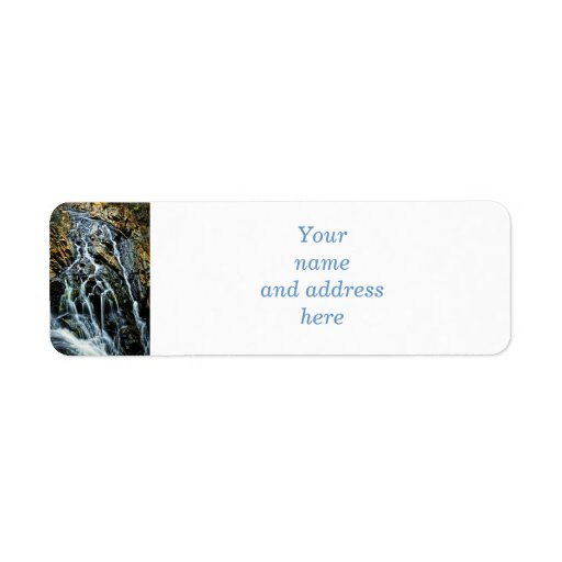 Waterfall in Northern Ontario, Canada Return Address Labels