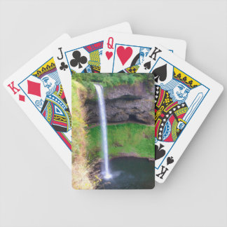 Waterfall in Oregon Bicycle Playing Cards