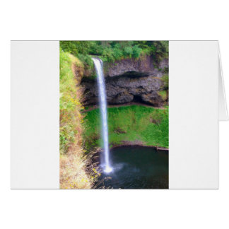 Waterfall in Oregon Card