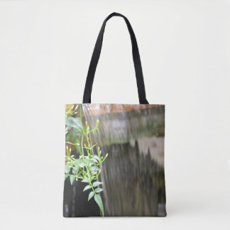 Waterfall in the Greenery Tote Bag