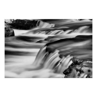 Waterfall in the Poconos Print