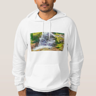 Waterfall in the wild hoodie