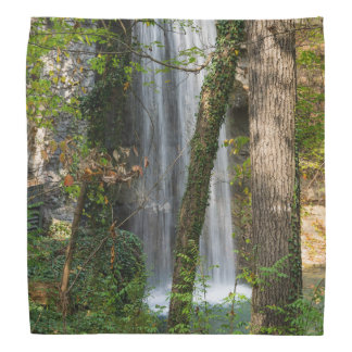 Waterfall In The Woods Bandana