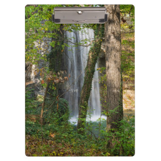 Waterfall In The Woods Clipboard