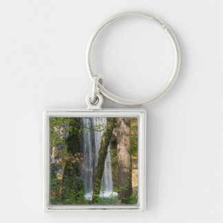 Waterfall In The Woods Keychain