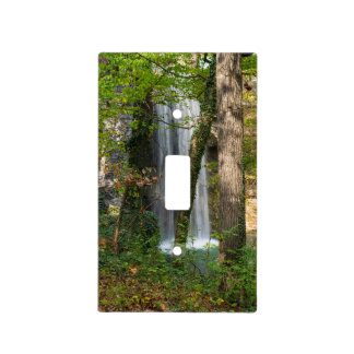 Waterfall In The Woods Light Switch Cover