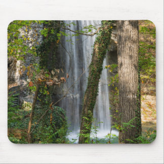 Waterfall In The Woods Mouse Pad