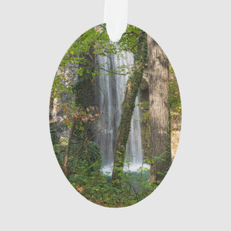 Waterfall In The Woods Ornament