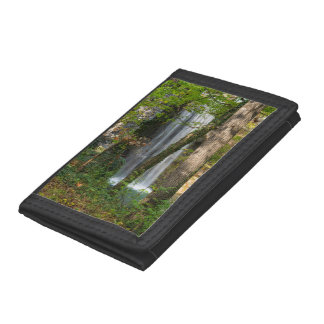 Waterfall In The Woods Trifold Wallet