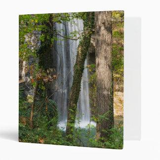 Waterfall In The Woods Vinyl Binder