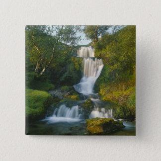 Waterfall, Isle of Skye, Scotland 2 Inch Square Button