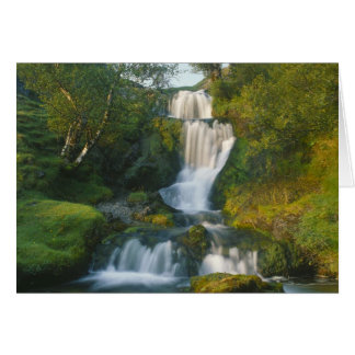 Waterfall, Isle of Skye, Scotland Card