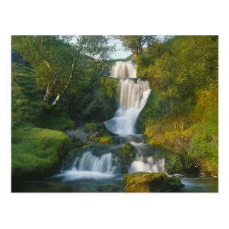 Waterfall, Isle of Skye, Scotland Postcard