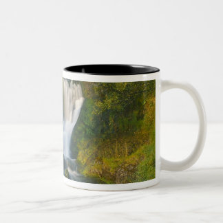 Waterfall, Isle of Skye, Scotland Two-Tone Coffee Mug