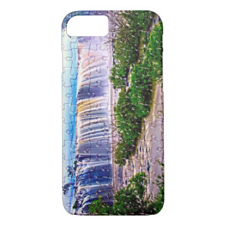 Waterfall jigsaw effect iphone 8/7 case