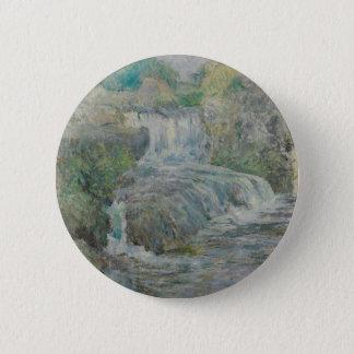 Waterfall - John Henry Twachtman 2 Inch Round Button