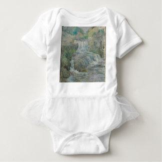 Waterfall - John Henry Twachtman Baby Bodysuit