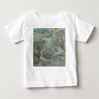 Waterfall - John Henry Twachtman Baby T-Shirt