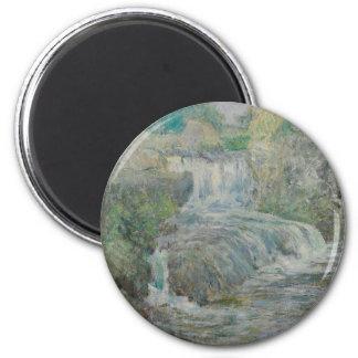 Waterfall - John Henry Twachtman Magnet