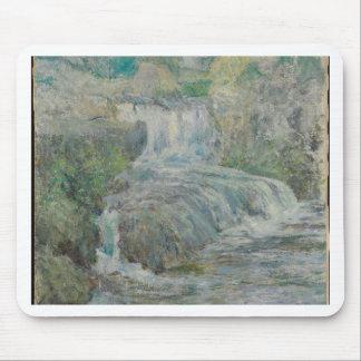 Waterfall - John Henry Twachtman Mouse Pad