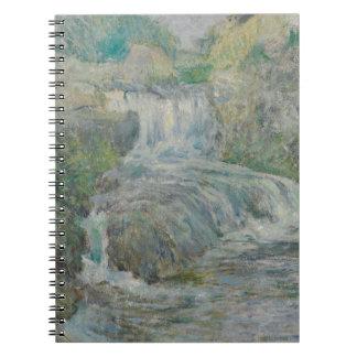 Waterfall - John Henry Twachtman Notebooks