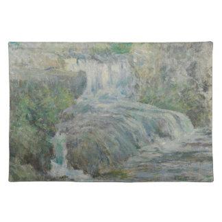 Waterfall - John Henry Twachtman Placemat