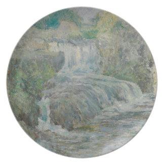 Waterfall - John Henry Twachtman Plate