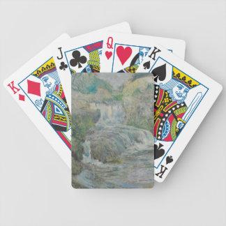 Waterfall - John Henry Twachtman Poker Deck