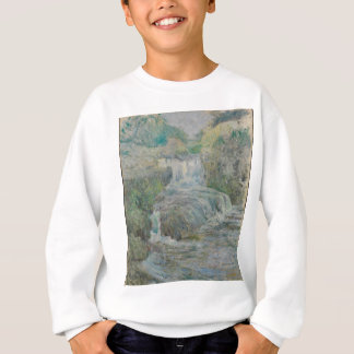 Waterfall - John Henry Twachtman Sweatshirt