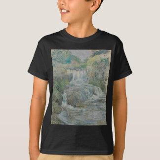 Waterfall - John Henry Twachtman T-Shirt