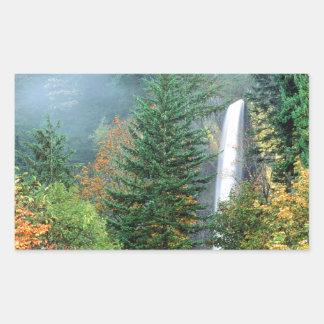 Waterfall Latourell Columbia Sticker
