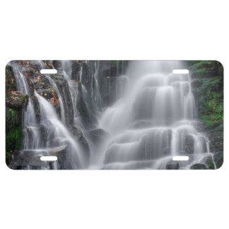 Waterfall License Plate