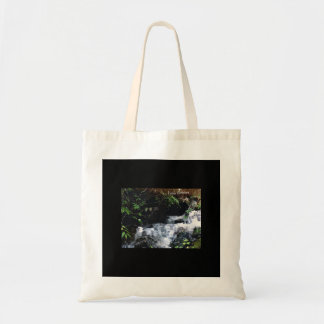 Waterfall Of Big Snowbird Tote Bag