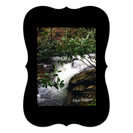 Waterfall of Little Snowbird Card