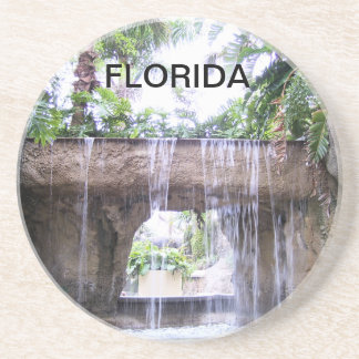 WATERFALL OF WEST PALM BEACH BEVERAGE COASTER