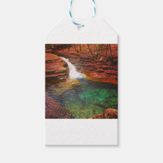 Waterfall Pack Of Gift Tags