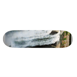 Waterfall Paterson NJ Skate Board