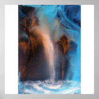 """Waterfall"" Poster"