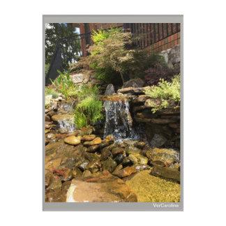 Waterfall Print Acrylic Wall Art