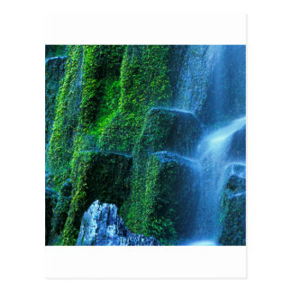 Waterfall Proxy Willamette Flow Postcard