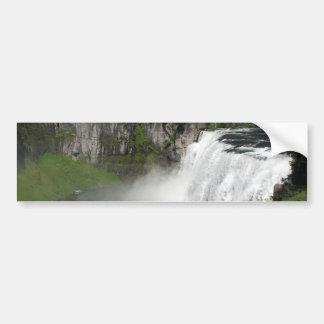 Waterfall Rainbow Bumper Sticker
