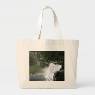 Waterfall Rainbow Large Tote Bag