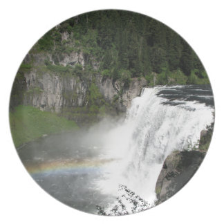 Waterfall Rainbow Plate