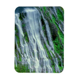Waterfall scenic, California Rectangular Photo Magnet
