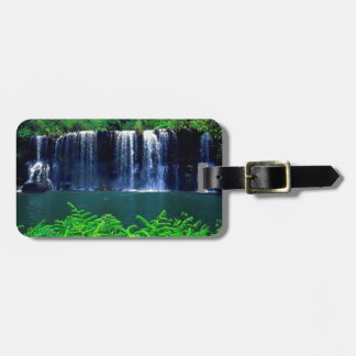 Waterfall Secluded Kauai Luggage Tag