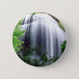 Waterfall Silver Falls 2 Inch Round Button