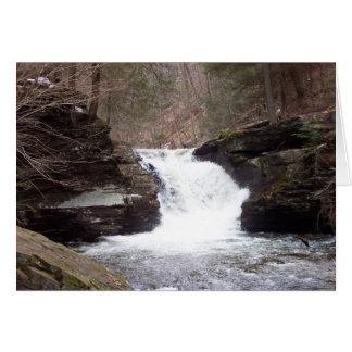 Waterfall Sympathy Card