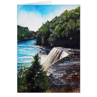 Waterfall - Tahquamenon Falls, MI Greeting Card