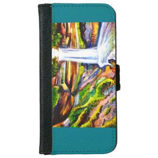 Waterfall Wallet phone case