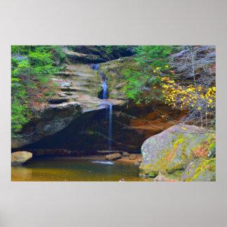 Waterfall Wonderful Poster